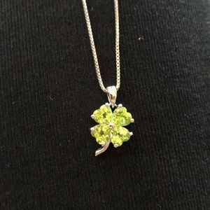 Jewelry - Four leaf clover necklace. Never worn, brand new.